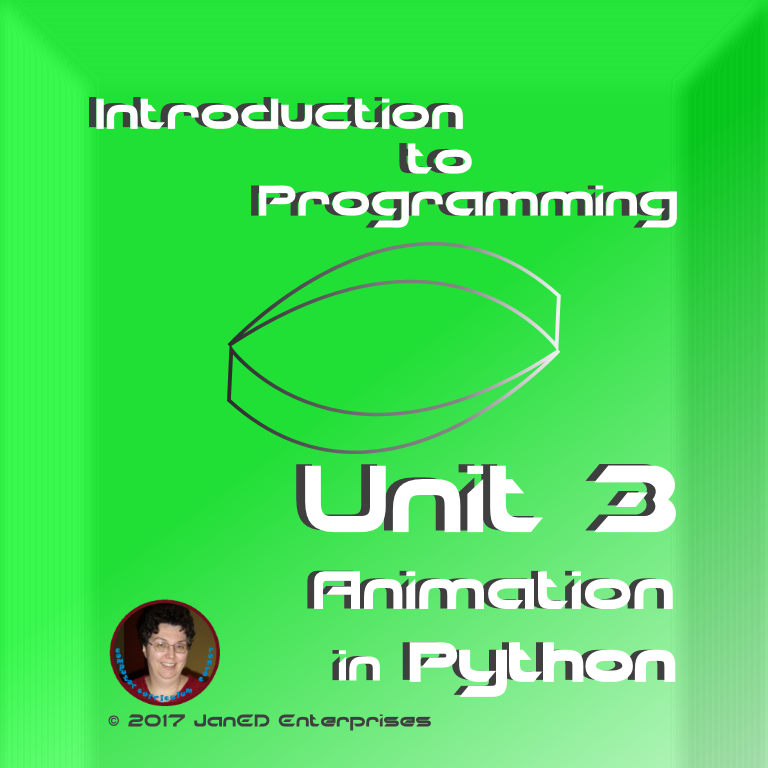 Turtle animation in Python.  Lesson plans, student handouts, culminating activity and test.